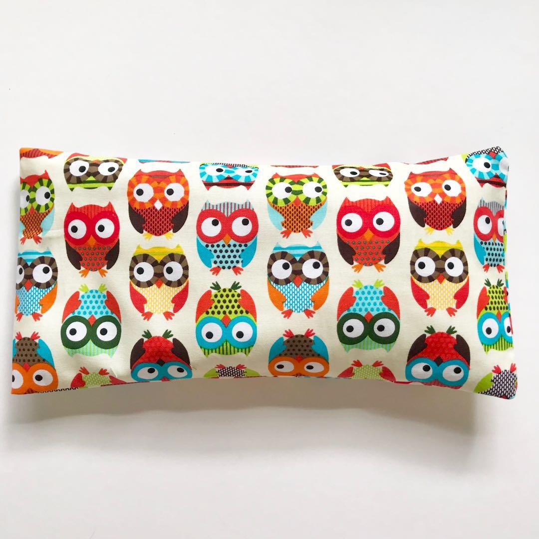 Owls In Brite Pinklabel